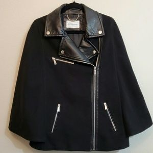 BCBG jacket with cape sleeves